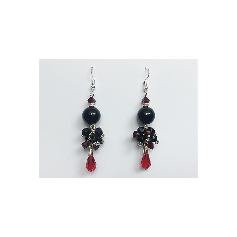 b399d278a84 Pikad kõrvarõngad, Swarovski elementidega @ Berkana Jewelry & Disain