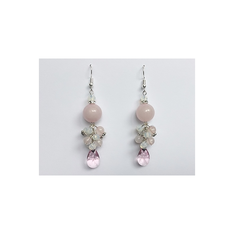95d9dc7465b Swarovski, roosa kvarts ja opaliit @ Berkana Jewelry & Disain